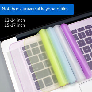 Universal Laptop Cover Keyboard Dustproof Waterproof Soft Silicone Protector