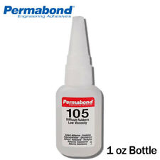 Permabond 105 (1oz Bottle) Adhesive for Difficult Plastics & Rubbers