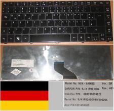 Clavier Qwertz Allemand ACER Aspire 3810T NSK-AMK0G 9J.N1P82.K0G KB.I140A.069