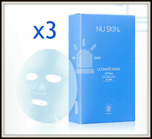 (3 Sheets) Nu Skin Ultimate A.C Care Calming Face Mask (For Troubled Skin)
