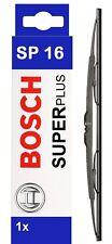 """BOSCH ANTERIORE E POSTERIORE Spazzola Tergicristallo Set 400mm/16"""" SP16"""