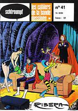 SCHTROUMPF les Cahiers de la BD n°41. RIBERA. 1979.