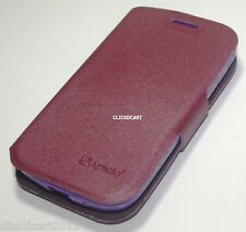 Flip PU Leather Case For Samsung Galaxy S Duos S7562