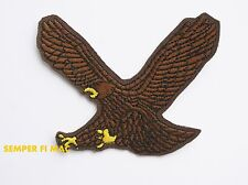 EAGLE HAT PATCH USA FLAG AMERICA US ARMY MARINES NAVY AIR FORCE USCG PIN UP WOW