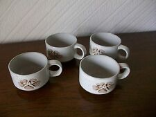 Stoneware Midwinter Pottery Cups & Saucers