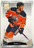 2019-20 Upper Deck The Cup Connor McDavid Base Card #'d 225/249 Oilers #21