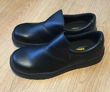 Shoes for Crews 5256 Slip On Black Safety Shoes UK Size 13 EU 47