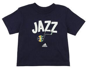 Adidas NBA Toddlers Utah Jazz Front Whirlwind T-Shirt - Navy