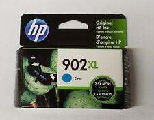 HP 902XL Ink Cartridge Cyan T6M02AN  EXP. 05/2022 New In Box sealed Genuine