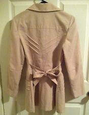 Vintage Lined Light Camel Dressy Coat