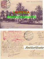 CARTOLINA TRIPOLI HAMMANGI SCIARA EL GARBI - VIAGGIATA 30/11/1916 originale