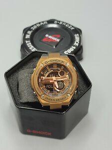 New CASIO G-Shock GST-210B-4A Steel Absorbing Structure Men's Watch BronzeTone