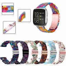 Luxury Resin Bracelet For Fitbit Versa 2/Versa Lite Watch Band Strap Replacement