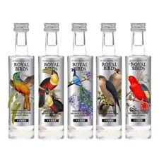 Royal birds vodka Platinum Collection 5x5cl Miniature Germany