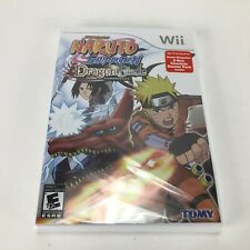 Naruto Shippuden: Dragon Blade Chronicles (Nintendo Wii, 2010) Brand New Sealed