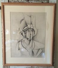 Jean Metzinger - Woman in a Hat - Facsimile Print - Matted & Framed - 1913