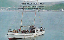 Motel Mechins sur Mer, fishing and boat trips on the sea, County Matane,