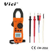 Vici Digital Clamp Meter AC/DC Current Voltage Multimeter Temp Volt Amp Tester
