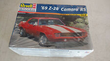 REVELL ~ 1969 CHEVY CAMARO RS Z-28 NEW Model Car ~ 1/25 Scale