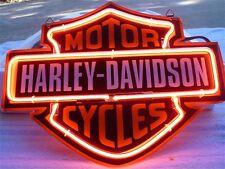 12''x9'' Harley-Davidson Motorcycles Beer Bar Neon Sign Light Club Sport Decor