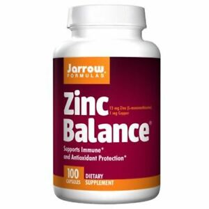 Zinc Balance 100 Caps 15 mg by Jarrow Formulas
