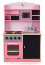 BABY VIVO Kinderspielküche mit Tafel - Mila in Rosa
