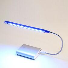 Portable Flexible USB 10 LED Lamp Light Bulb Desk Reading for Laptop Notebook AQ