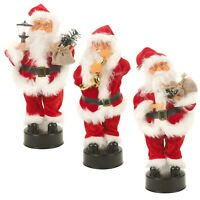 Musical Dancing Singing Light Up Santa Claus Christmas Decoration Novelty Toy