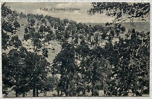 Camp of Troodos, Cyprus.