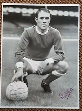 RAY WILSON EVERTON / ENGLAND 1966 Original Hand Signed 16 x 12 Large Photo