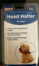 New Petco head halter for dog dogs training black pet muzzle obedience