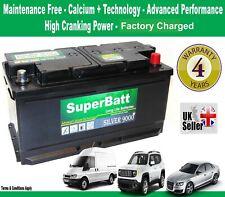 CITROEN, FIAT, IVECO, PEUGEOT Van Battery - TYPE 019 -SuperBatt 019