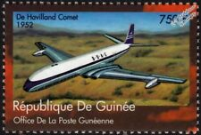 BOAC 1952 De Havilland COMET DH.106 Airliner Aircraft Stamp (2002 Guinea)