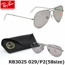 559c86d65fd38 Nuevo Ray-Ban Aviador RB3025 029 P2 58mm Gris Mate con   Gris Polarizados