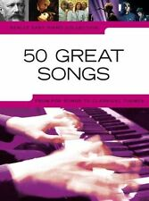 Vraiment facile piano collection: 50 grandes chansons
