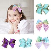 New Baby Kids Girls Children Toddler Diamond Hair Clip Bow Accessories Hairpin