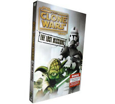 STAR WARS:THE CLONE WARS:SEASON 6:THE LOST MISSION (DVD 3-DISC} FAST SHIPPING