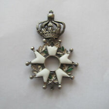 MEDAILLE LEGION HONNEUR DEMI TAILLE ARGENT EMPIRE FRENCH MEDAL ORDER NAPOLEON