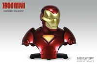 SIDESHOW IRON MAN LEGENDARY SCALE BUST