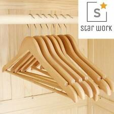 Clothing hangers Star Work Clothes Hangers Wooden Ultra Thin Space SavingUltra
