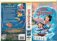 LILO E STITCH (2002) vhs ex noleggio