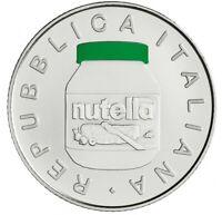 Italien 2021 5 Euro Nutella grün Silber - Italienische Exzellenz