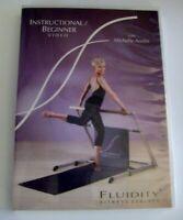 Fluidity Fitness Instructional Beginner DVD Michelle Austin Barre Workout Bar