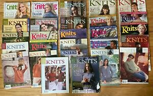 Lot of 25 Interweave Knits + 2 Creative Knitting Magazines