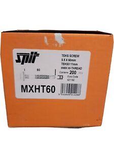 SPIT 5.5X60MM Teks Screws MXHT60