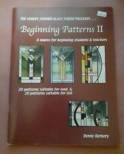 Beginning Patterns Ii by Denny Berkery - Stained Glass Pattern