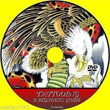 LEARN HOW TO CREATE A TATTOO DVD A STEP BY STEP INSTRUCTION BEGINNERS GUIDE NEW