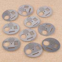 10Pcs Stainless Steel Bee Hive Nuc Box Entrance Gates Beekeeping Equipment Tools