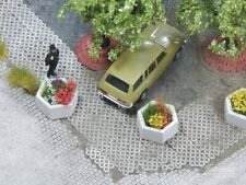 More details for 1/87 plant box concrete - hexagon, 5pcs.