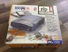 iomega Zip 100 for parallel port For PC NEW (small scratch)